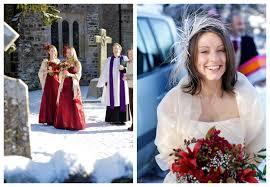 Winter Wedding Dresses 2011 Real Snowy Winter Wedding Lara U0026 Simon