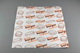 burger wrapping paper food wrapping paper tangplastic