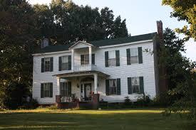 Federal Style House National Register Work U2013 Abigail R Gautreau