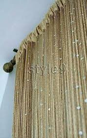 Beaded Fringe For Curtains String Curtain With Bead Sequin Spangle Fringe Door Window Panel