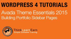 avada theme portfolio order 21 avada theme essentials portfolio sidebar pages master production