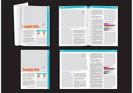 layout template en français financial magazine layout template download free vector art stock