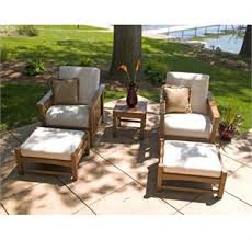 patio chair with ottoman set elegant club mission club chair and