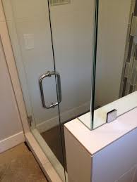 Frameless Shower Door Handle by Glass Shower Doors Affordable Coastal Glass