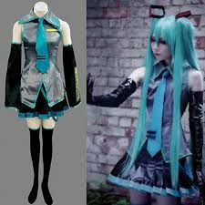 details about new vocaloid hatsune miku cosplay anime costume