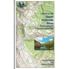 Colorado River Map by Rivermaps Upper Colorado River Guide Book At Nrs Com