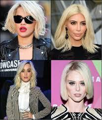 Frisuren 2017 Blonder Bob by Der Trend Platin Bob Frisuren 2017 Neue Frisur Stil