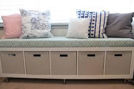 kinfine cooper large storage bench with shelf large storage