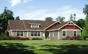home design single story craftsman style homes sloped ceiling