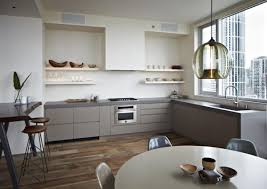 Two Colour Kitchen Cabinets Kitchen Inspiring Kitchen Color Trends With Nice Lighting