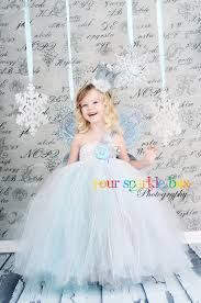 Snowflake Halloween Costume Sparkle Box Tutu Dress Halloween Costumes