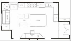 floor plan design kitchen magnificent restaurant kitchen floor plan layout plans