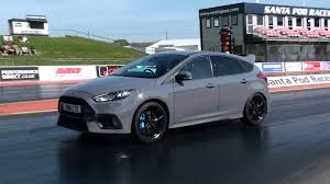 Ford Focus Colours 2016 Ford Focus Rs Mk3 Drag Racing Youtube