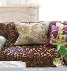 Luxury Velvet Upholstery Fabric Upholstered Cut Velvet Upholstery Fabric From Designers Guild
