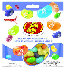jelly belly jelly bean tropical mix 100g bag