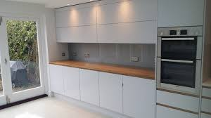 kitchen glass splashback ideas silver grey glass splashbacks