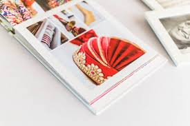 Best Wedding Photo Album Book Design Print Flushmount Oodio