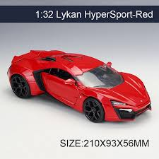 collectible model cars 1 24 model car lykan hypersport metal vehicle play collectible