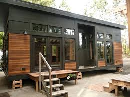 Tiny Homes Near Me This Is The 450 Sq Ft Waterhaus Prefab Tiny Home Designed By