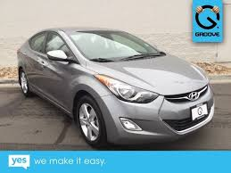2013 hyundai elantra used used 2013 hyundai elantra gls for sale denver co u3837372a