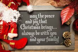 merry happy wishes to you and your family christian