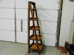 Free Ladder Shelves Woodworking Plans by Walnut And Spalted Maple Ladder Shelf By Woodnut Lumberjocks