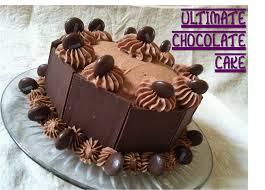 modern chocolate cake decorations with cake chocolate cake