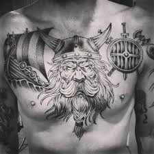viking chest tattoo designs ideas and meaning tattoos for you
