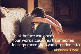 should always think before we speak quotes