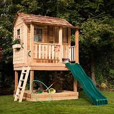 Backyard Playhouse Ideas Backyard Clubhouse Ideas Jeromecrousseau Us