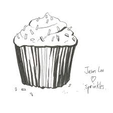a baked creation a dozen cupcake sketches from tcaf 2010