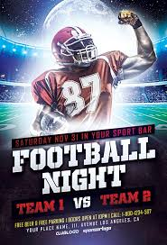 download free football sports flyer template awesomeflyer com