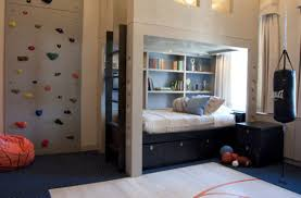 Awesome Sports Themed Bedroom Contemporary Home Design Ideas - Sports kids room