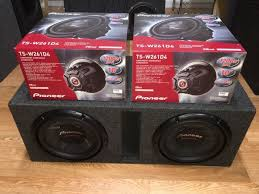 pioneer photo box pioneer chion series 10 s in a ported box audio equipment in