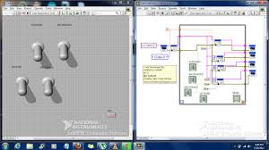 labview view block diagram using api in labview step 4 run the vi