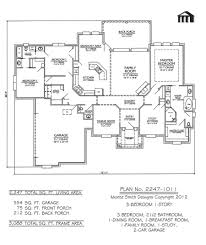1 1 2 story floor plans plan no 2247 1011