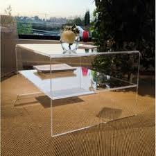 Plexiglass Coffee Table Clear Acrylic Coffee Table With Magazine Rack Design