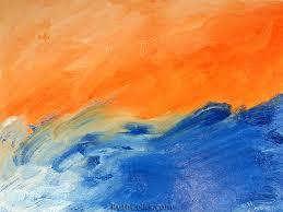 blue and orange wallpaper free download
