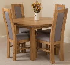 Dining Room Furniture Edmonton Edmonton Dining Set 4 Stanford Chairs Oak Furniture King