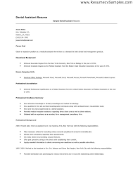 dental assistant skills resume lukex co