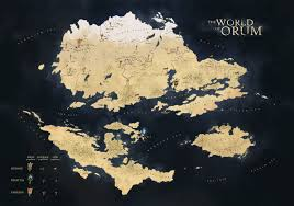 Fantasy World Map by Orum World Map By Petros Stefanidis On Deviantart