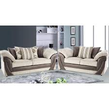 Scatter Back Sofa Cheap Sofa Uk Lush Scatter Back 3 2 Seater Suite Sale On