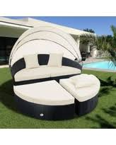 here u0027s a great deal on costway daybed patio sofa furniture round