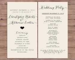 wedding ceremony program order 17 best s wedding ceremony order of service images on