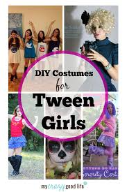Halloween Costumes Tweens Diy Tween Costume Ideas Tween Girls Tween Costumes