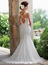 mon cheri wedding dresses allover lace trumpet wedding dress 117193 enchanting by mon cheri