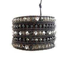 leather wrap bracelet women images Black leather wrap bracelets onsra designer bracelets jpg