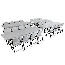 White Folding Table And Chairs Folding Tables Sam U0027s Club