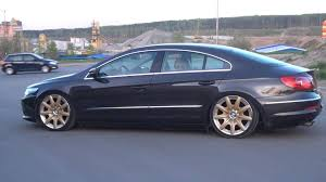 black and gold bentley my passat cc on bentley rims and air youtube