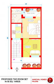square feet to gaj stunning 28 home design for 50 gaj 50 gaj area house layout plan